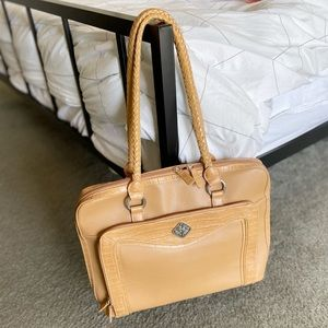 Beautiful Faux Leather Roomy Computer Bag